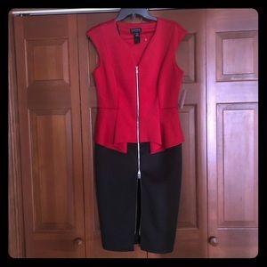 New Enfocus Studio Black and Red Dress